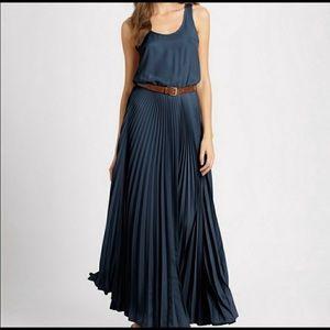 Michael Kors XS Navy maxi dress